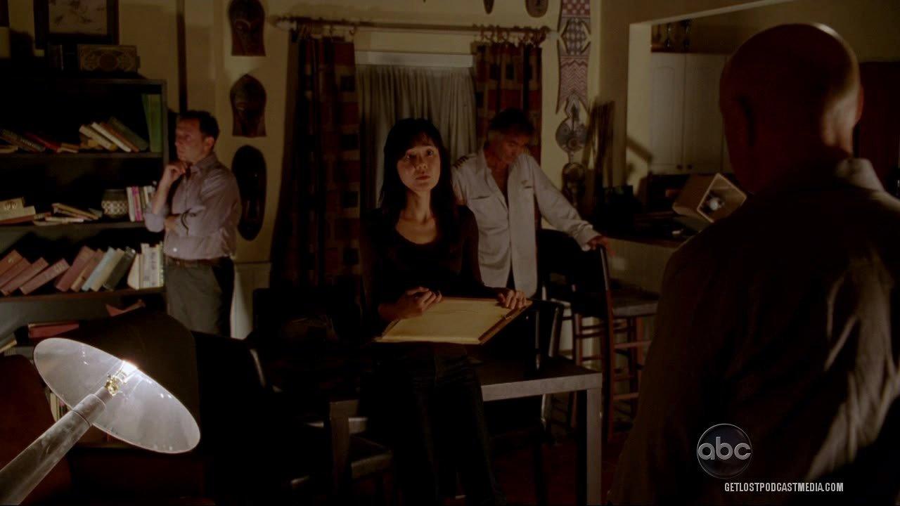 Locke: Eu segui um corredor com uma luz no fim-- Sun: Ah! Corta essa!