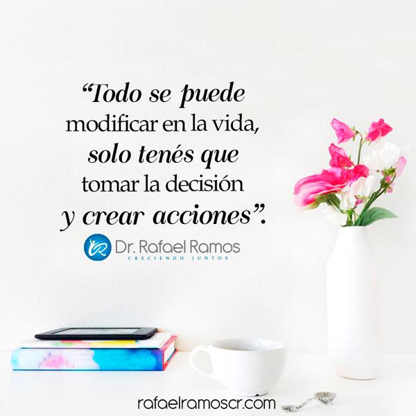 La vida es acción