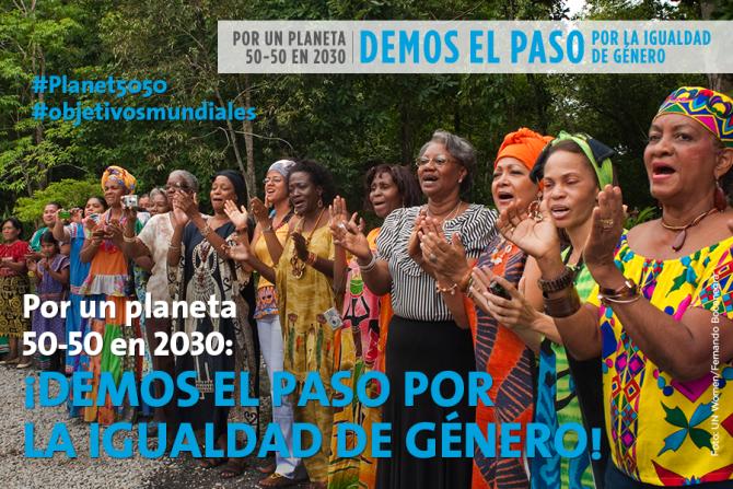#Planeta5050 #IWD2016