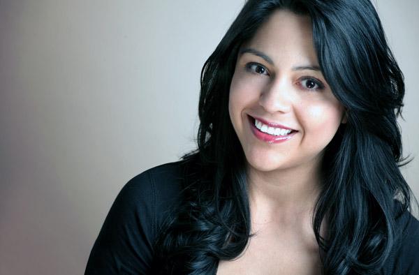 Happy Smiling Hispanic Woman