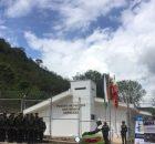 El equipo Tamayo participa de la instalación de la estación de policía de Boquerón región del Sumapaz.