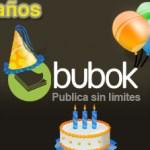 Segundo cumpleaños de Bubok