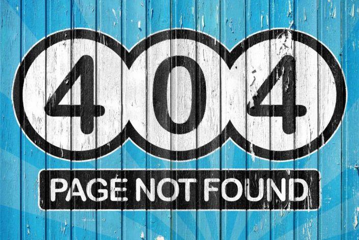 Error 404. ¿Estás resolviendo tus enlaces rotos?
