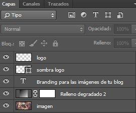 Branding imágenes photoshop