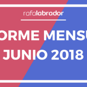 Informe Mensual Junio 2018