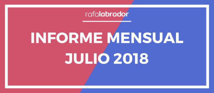 Informe Mensual Julio 2018