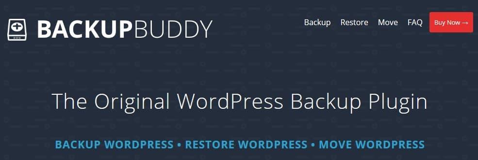 BackupBuddy Plugin Backup WordPress