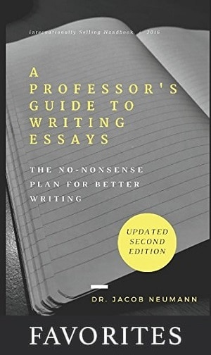 a professor's guide to writing essays