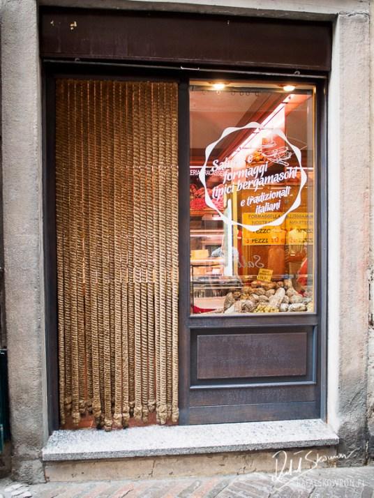 Sklep mięsny w Bergamo