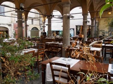 Restauracja w Bergamo
