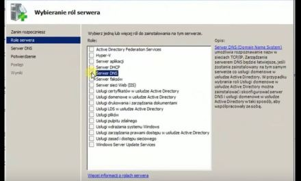 Serwer DNS – instalacja, konfiguracja i testowanie w Windows Server 2008R2