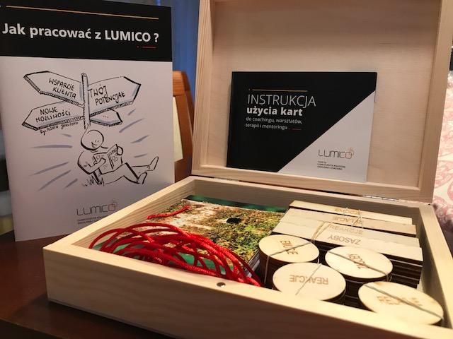 Zestaw Lumico - Karty coachingowe plus