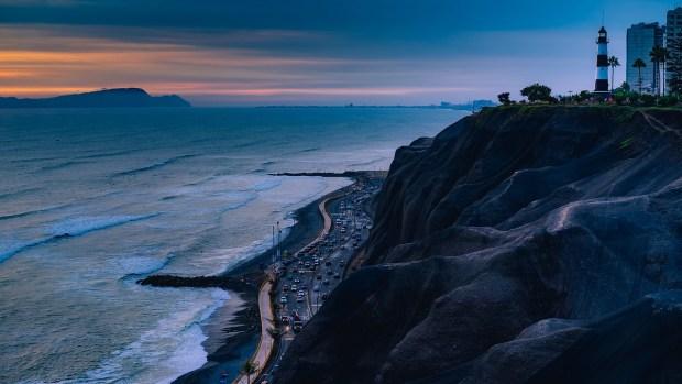 Il quartiere Miraflores a Lima
