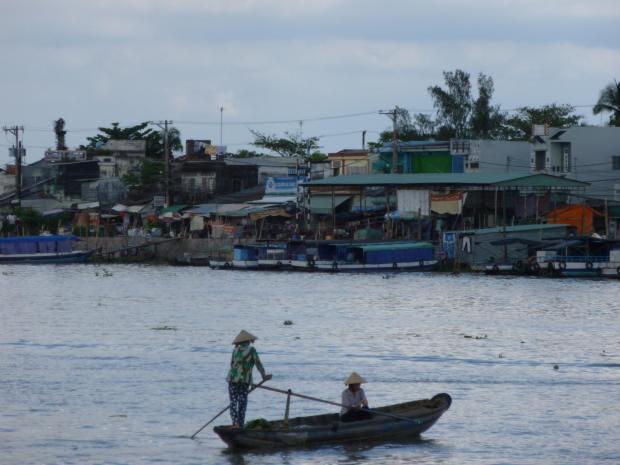 Navigando il Delta del Mekong