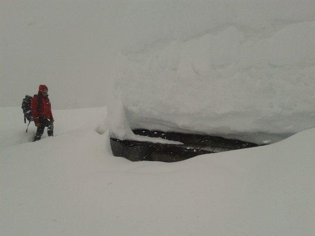 Escursioni con le racchette da neve: senza punti di riferimento