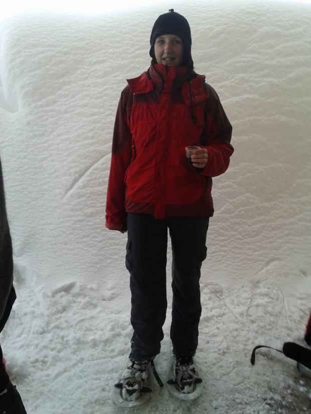 Escursioni con le racchette da neve: senza punti di riferimento: una pausa meritata