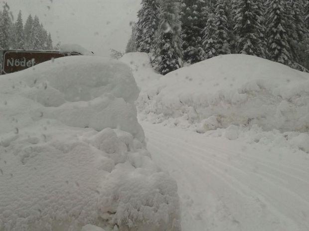 Un inverno ricco di neve