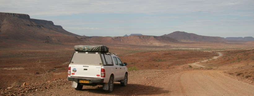 Damaraland on the road