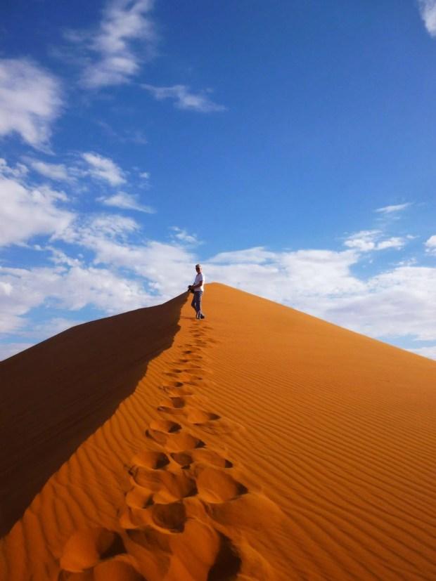 Il costo di un self drive in Namibia: la Duna 45
