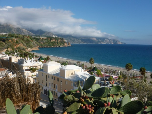 Playa Burriana a Nerja