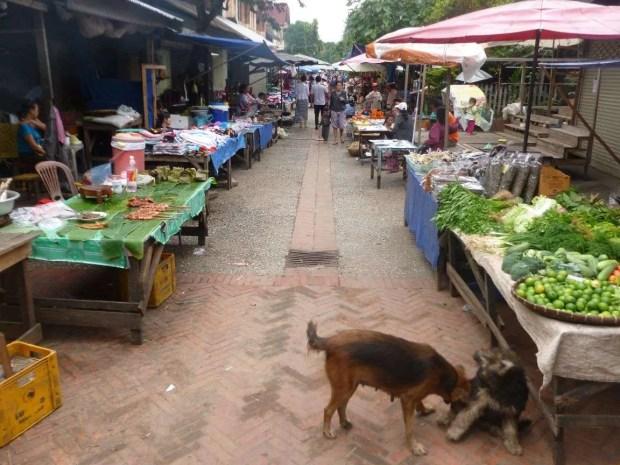 Il Food Market a Luang Prabang