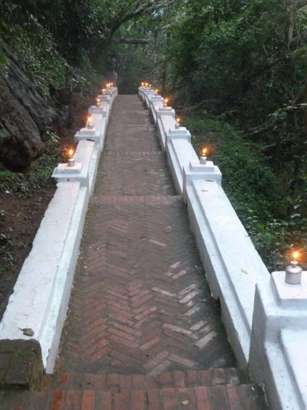 Cosa fare a Luang Prabang: la salita al Mount Phousi