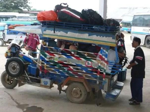 Il viaggio: Udon Thani - Transfer per l'aeroporto