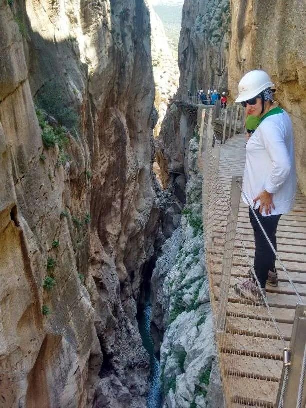 Caminito del Rey - Il canyon