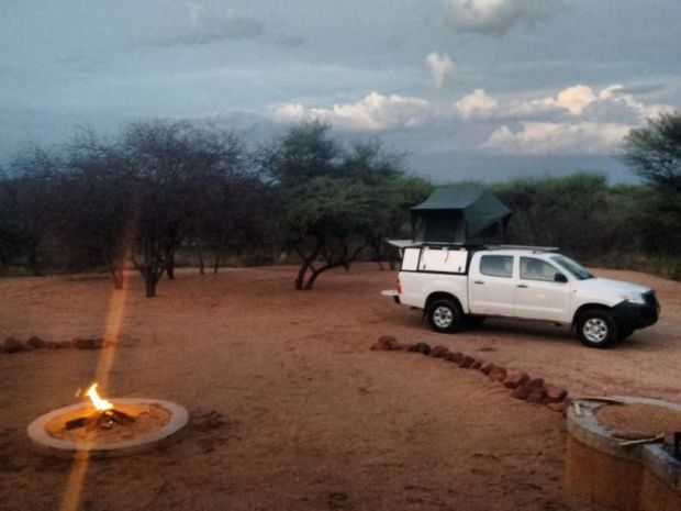 Camping in Namibia: Omboroko Camp Site