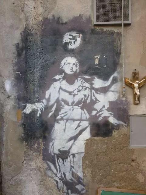 banksy a Napoli