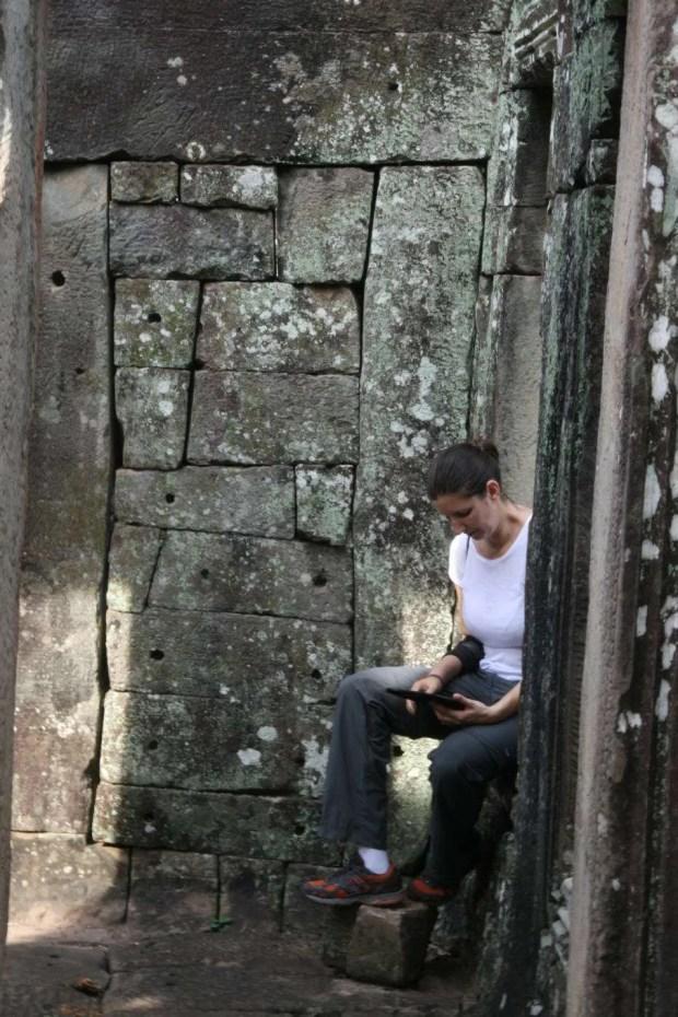 Visitare i templi di Angkor con una guida sul Kindle