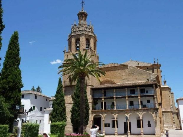 La Chiesa di Santa Maria La Mayor a Ronda