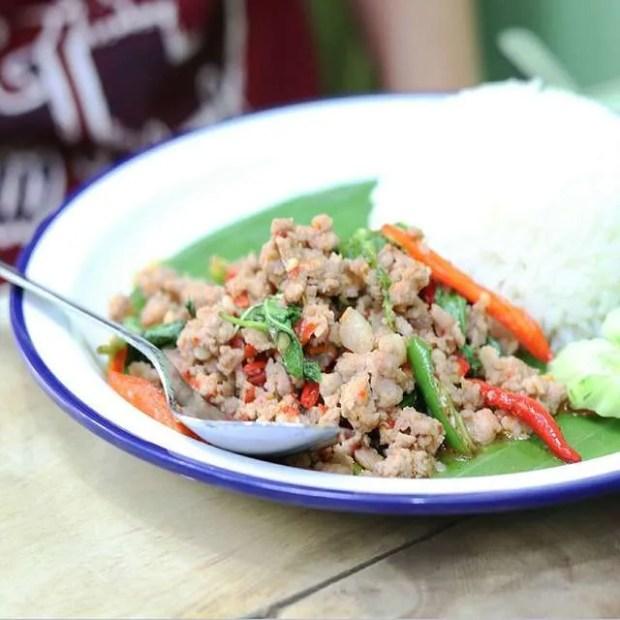 Il Krapow Moo, uno dei miei piatti thai preferiti