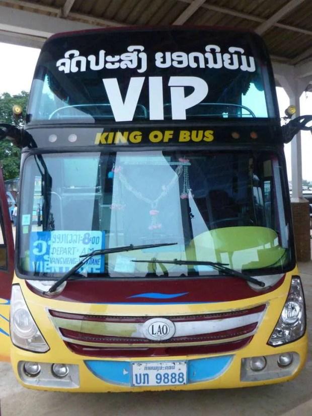 Da Chiang Mai a Luang Prabang: Tipico bus laotiano