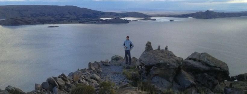 Vista sul lago Titikaka