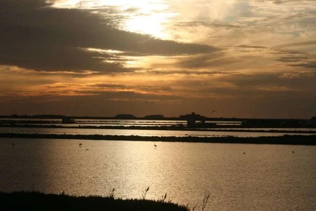 Tour della Sicilia: tramonto alle Saline di Marsala