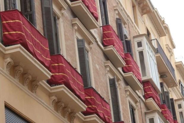 Pasqua in Andalusia: balconi decorati