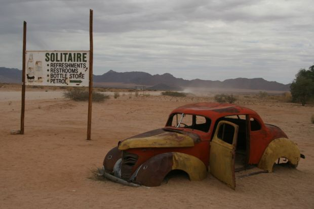 Self drive in Namibia: Solitaire