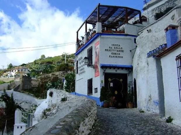 Tipico luogo dove ascoltare musica flamenca a Sacromonte