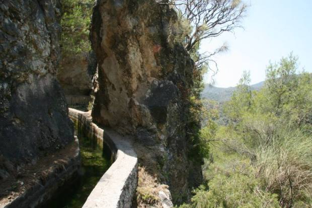 Avventura in Andalusia: il ritorno lungo l'acquedotto del Rio Chillar