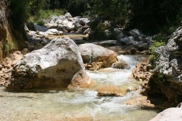 Avventura in Andalusia: inizio del percorso del Rio Chillar