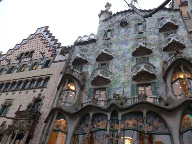 L'edificio preferito dalla mia mamma a a Barcellona