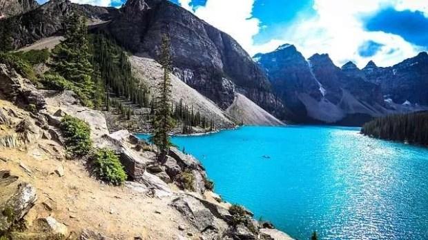 Il Parco naturale di Banff in Canada