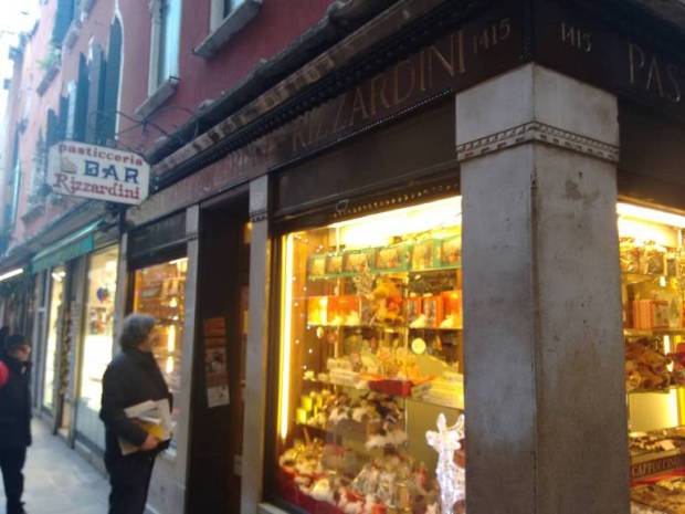 Una delle mie pasticcerie di Venezia preferite: Rizzardini