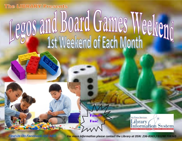Lego and Board Games Weekend March 2019
