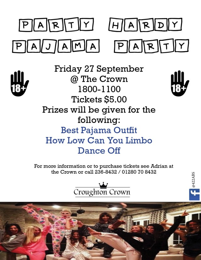 18+ PJ party