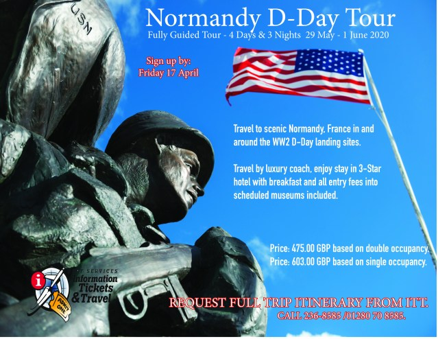 Normandy Flyer May 2020 short worded
