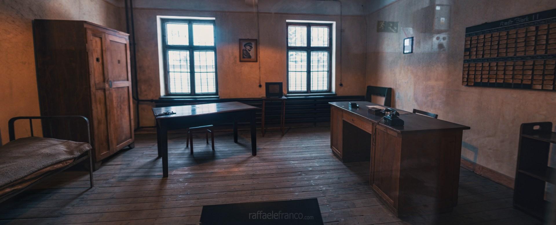 L'alloggio degli ufficiali delle SS ad Auschwitz