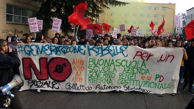 L'Italia si divide nel nome di Renzi