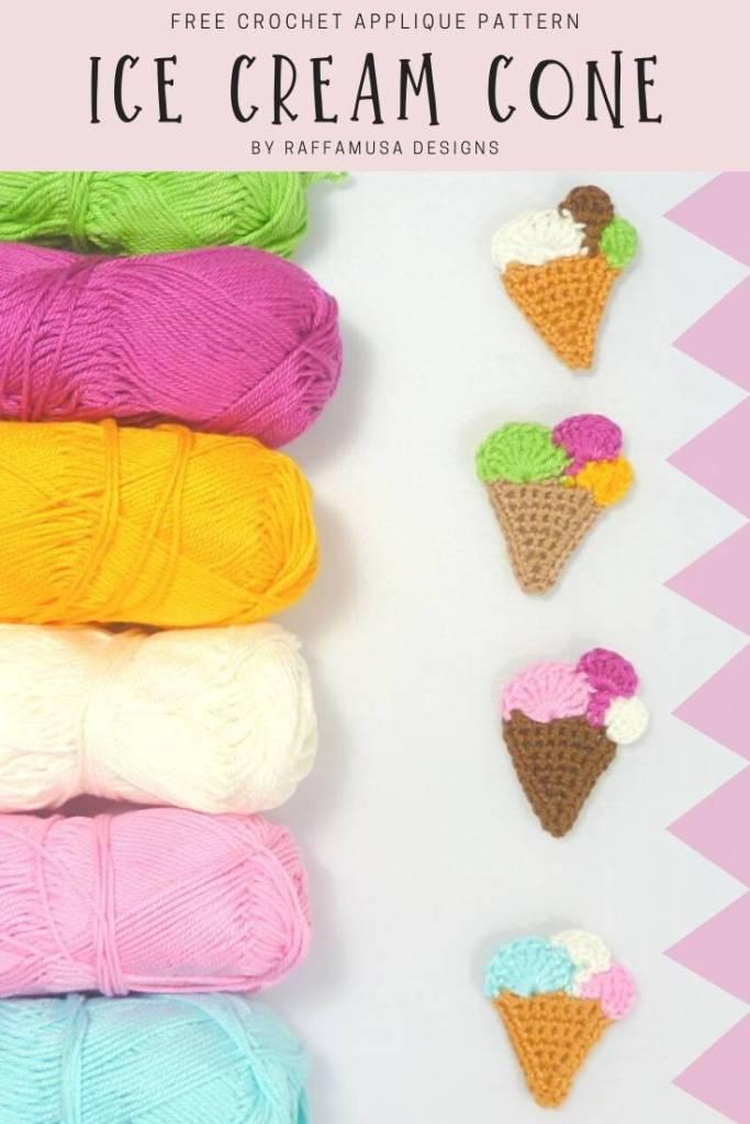 Ice cream amigurumi free crochet - Amigu World | 1024x683